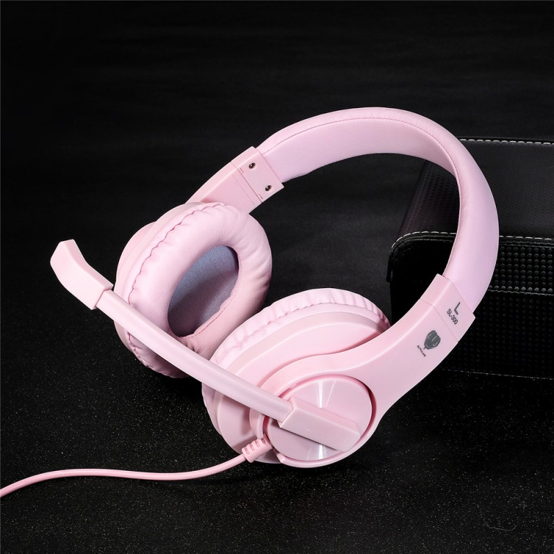Gaming Headset SL-300 Pink