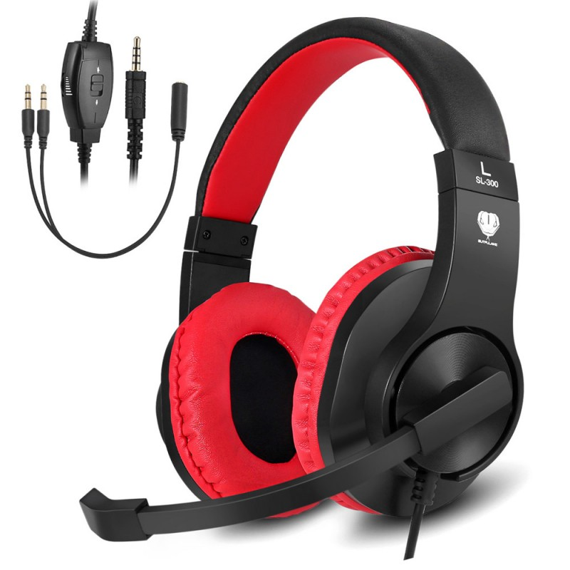 Gaming Headset SL-300 Red